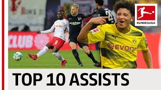 James, Keita, Sancho & More - The 10 Best Assists 2017/18 Season