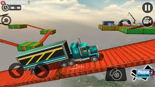 Impossible Truck Tracks Drive / Cargo Truck Simulation / Android Gameplay Video #7