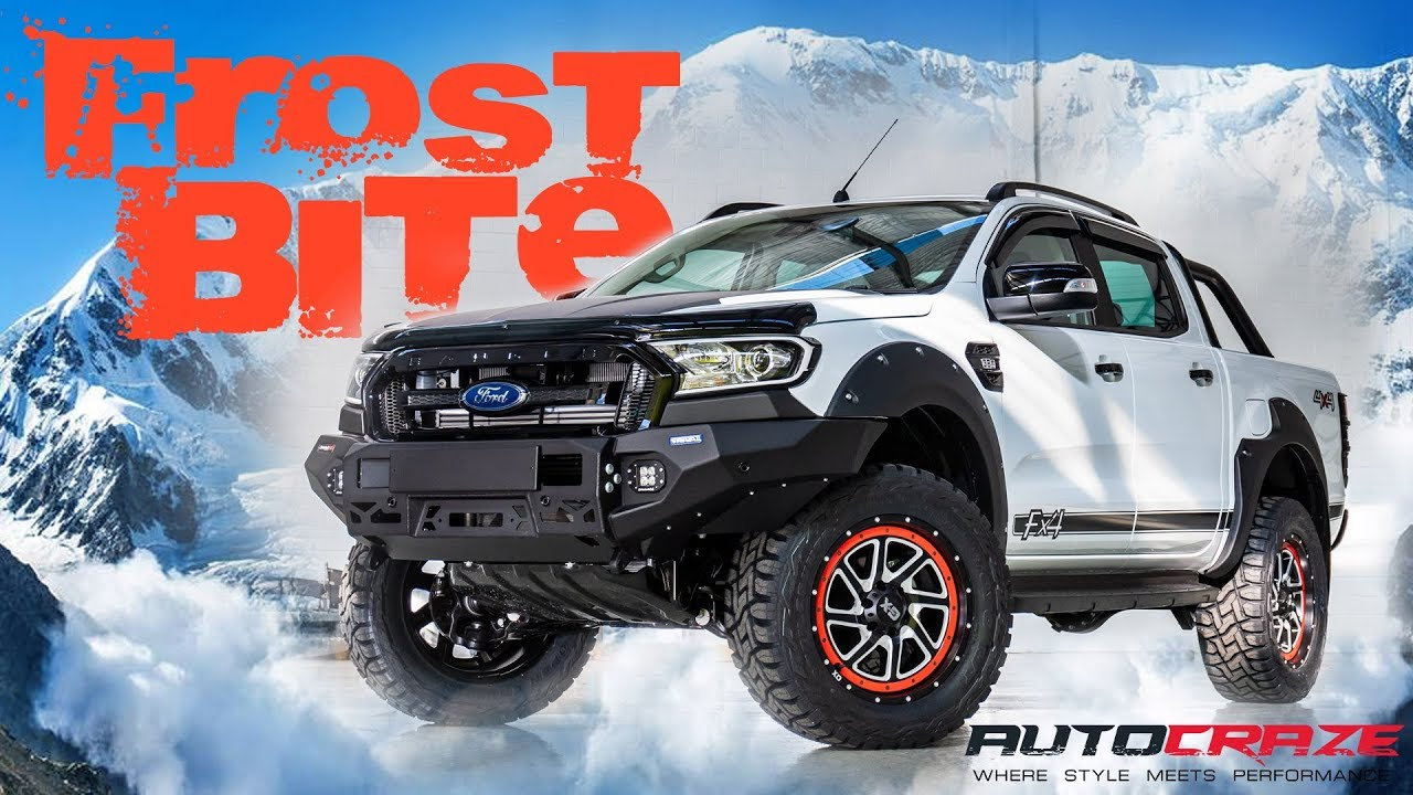Frostbite ranger fx4 lifted ford ranger aftermarket parts accessories wheels flares more
