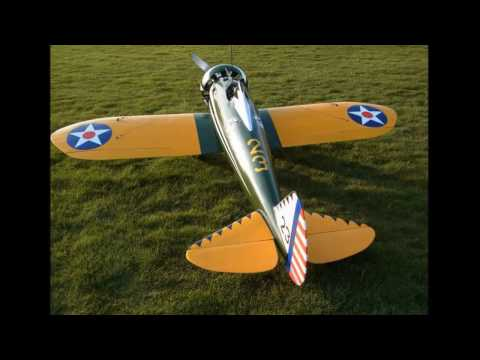 Boeing P 26  Peashooter RC Modell