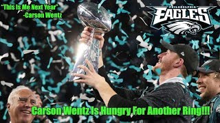 Carson Wentz Is A Championship Winning QB But Needs To Win Again To Get RESPECT!  Sixers Are Fine!!!