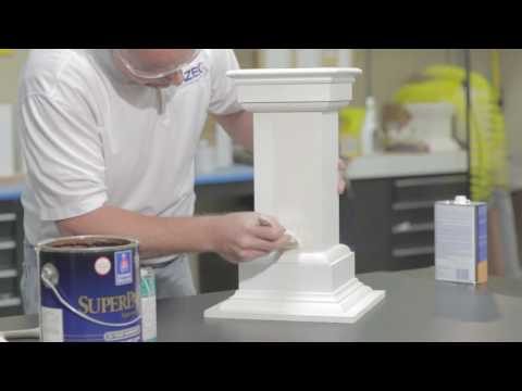Painting Products for PVC Trim and Molding