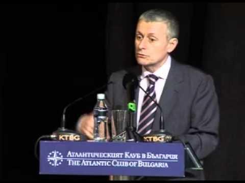 Solomon Passy Speaking at The Atlantic Club Bulgaria