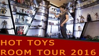 Hot Toys Extreme Collection Display Room Tour 2016 [4K]