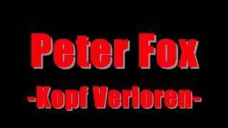Peter Fox - Kopf Verloren [HQ]