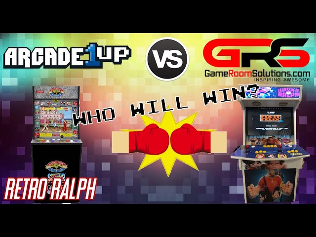 Arcade1up vs. Game Room Solutions - Watch Ralph Wreck-it!