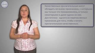 Русский язык 5 класс. Имена прилагательные: качественные,  относительные, притяжательные.