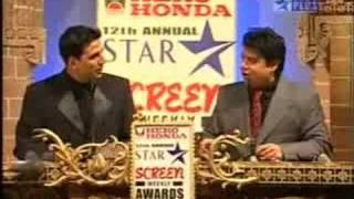 12th Star Screen Awards (2006) - Akshay Kumar - Part 1