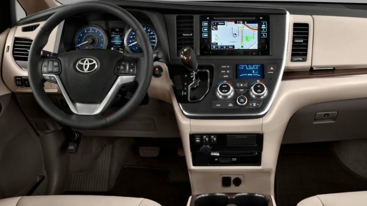 2018 Toyota Sienna Release Date >> Hot Show 2018 Toyota Sienna Hybrid Interior and Exterior - YouTube
