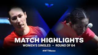Polina Mikhailova vs Yuan Jia Nan | WTT Star Contender Doha 2021 | WS | R16 Highlights