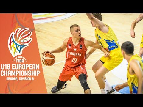 Kosovo V Hungary - Full Game - FIBA U18 European Championship Division B 2019