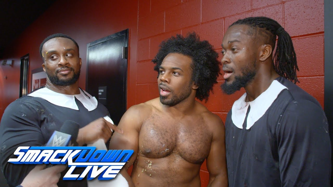 The New Day Are Ready For Thanksgiving Smackdown Exclusive Nov 20
