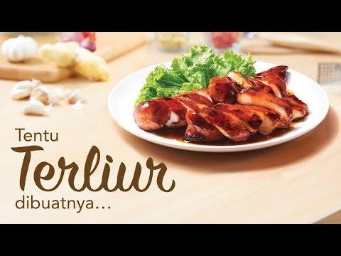 Ayam Madu Enak Terangkat dengan MAGGI® Sos Tiram
