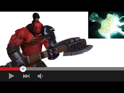 видео: dota 2. Зачем axe