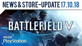 Battlefield 5 präsentiert den Singleplayer   Inside PlayStation News & Store Update