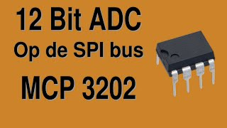 ADC 12Bit op Arduino SPI bus (zonder extra library)