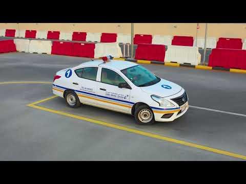 SMART YARD SMART YARD / PARKING TEST / Dubai Driving center  / English