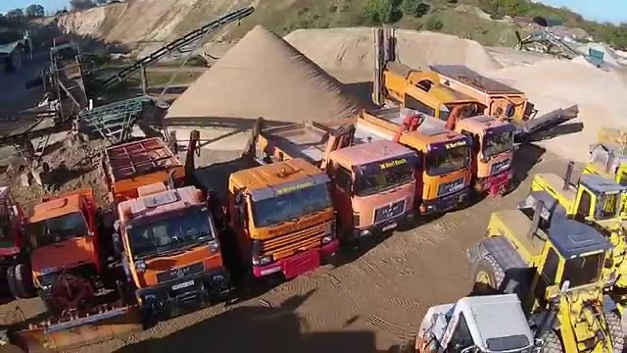 Karl koch erdarbeiten und kieswerk youtube for Koch transporte