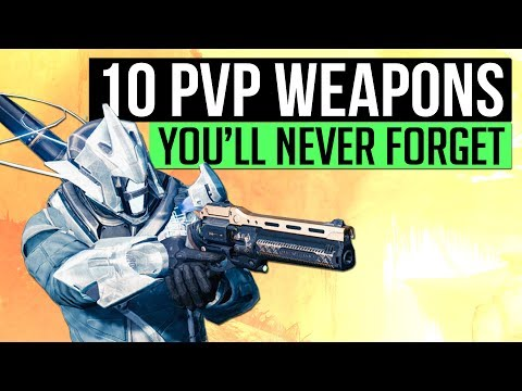 Destiny | 10 PvP Primaries You Will Never Forget! (A Weapons Retrospective)