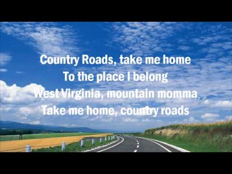 John Denver ♥ Take Me Home, Country Roads  The Ultimate Collection  with Lyrics