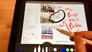 How to draw on photos with Apple Pencil