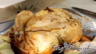 Christmas Sunday Roast Chicken Dinner  Full Recipe