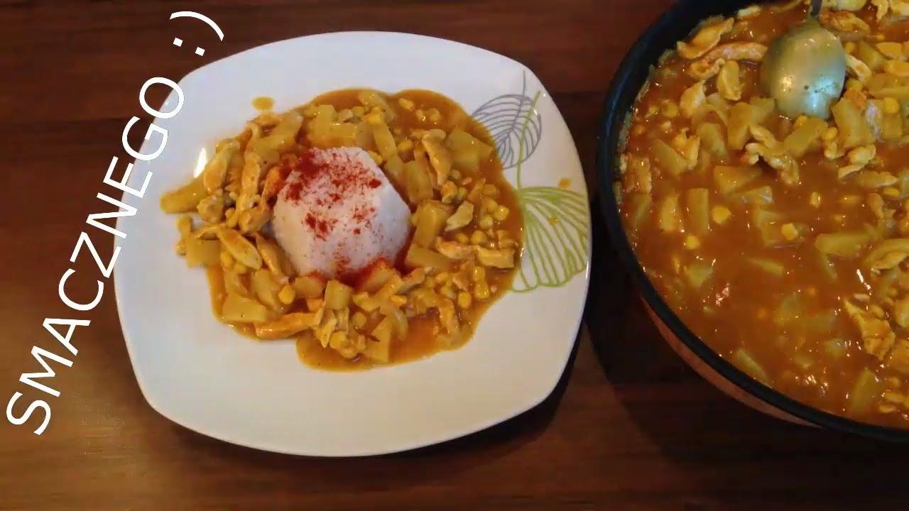 Kurczak W Sosie Curry Z Ananasem Gotowy W 30 Minut Www