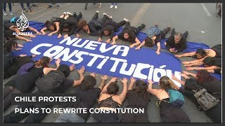 Chile plans to rewrite constitution amid  mass protests