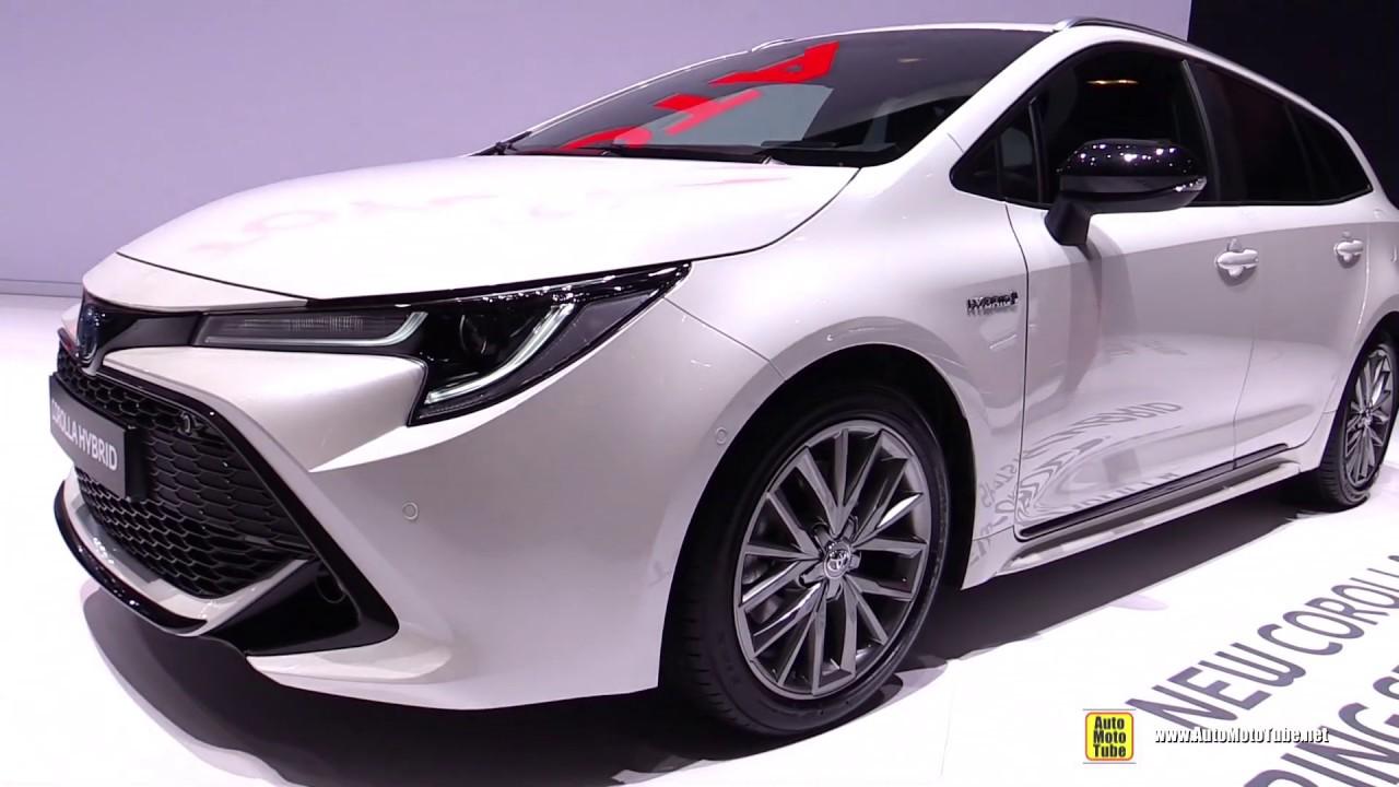 2020 Toyota Corolla Touring Sports Hybrid - Exterior Interior Walkaround - 2019 Geneva Motor Show