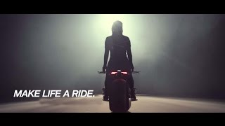 Self Balancing Motorcycle. THIS IS CRAZY