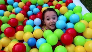 Grandpa and Öykü, Kid Family Fun - Hide and Seek - Oyuncak Avı Öykü