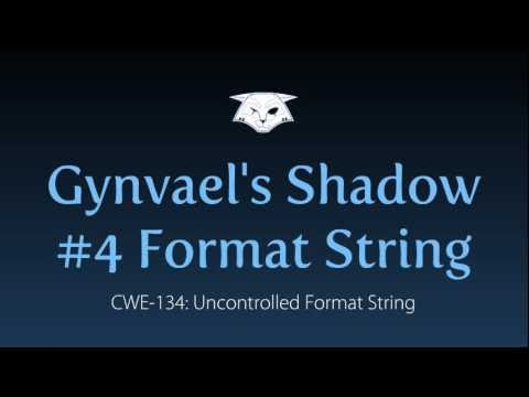 Gynvael's Shadow #4: Format String