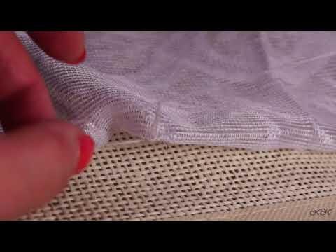 Как сделать петельки из ниток на шторы вручную видео