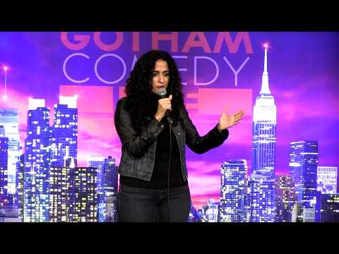Suzie Afridi at the Arab Comedy Festival