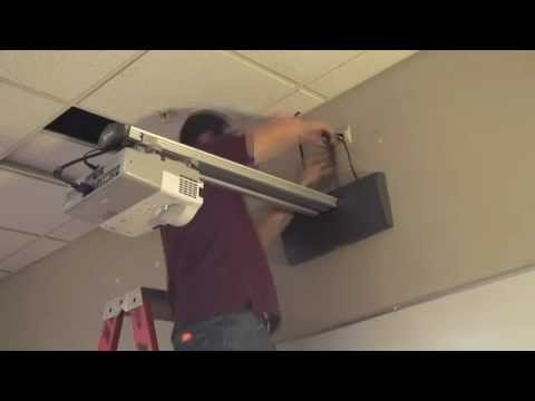 How To Install Chief Wp2 Short Throw Projector Mounts