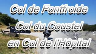 Col de Fontfroide Col du Coustel en Col de l'Hôpital Honda Varadero XL 1000 2018 thumbnail