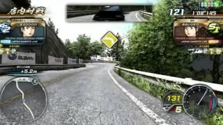 頭文字d arcade stage 8 インフィニティ エースドライバー きざきゆりあ jgl走行ムービー
