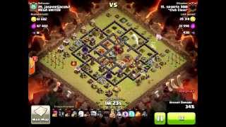 Clash of Clans - Sparta 300 of ~Club Clash~ with a 3 star you have to see to believe!