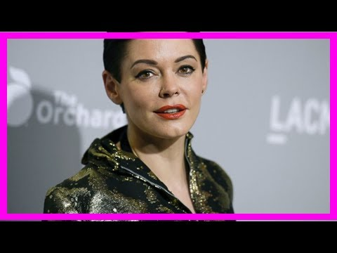 Breaking News | After twitter suspension, rose mcgowan says: 'hw raped me'