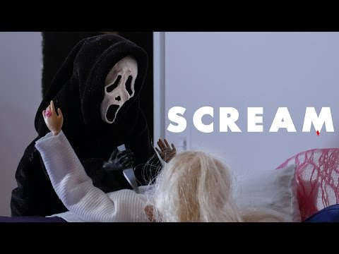 Barbie's Having a Bad Nightmare - Episode 2: Scream  A Stop Motion Barbie Toy Parody by Shakycow