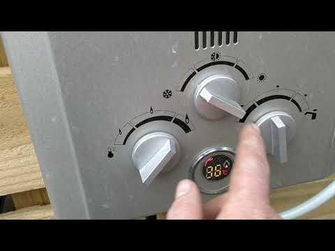 OGT 35 - $130 outdoor gas shower.