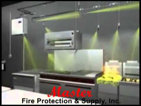 Ansul Kitchen Fire Suppression System Master Fire