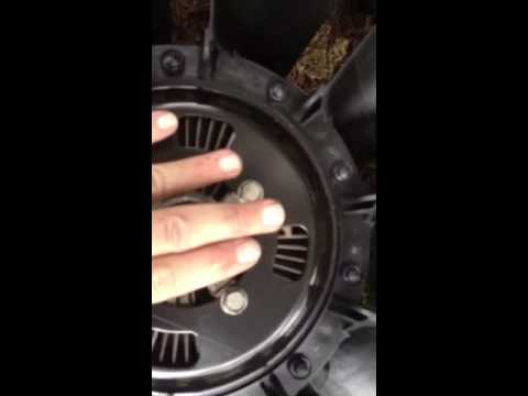 Removing A Radiator Fan Clutch Nut The Easy Way Doovi