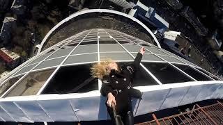 Руфер Crowley на крыше ЖК Кловский