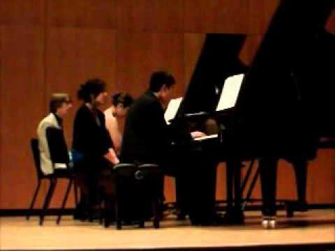 Hesitation Tango, Souvenirs, Op. 28, Samuel Barber arr. A. Gold/R. Fizdale