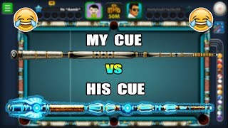 MY OPPONENT WAS TOO PROUD OF HIS CUE, I MADE HIM REALIZE THAT SKILLS MATTER..