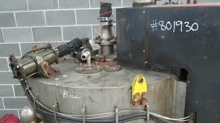 Broadbent Bottom Discharge Batch Centrifuge type 46a