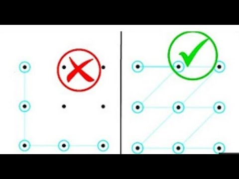 10 mật khẩu điện thoại cực ngầu (phần 3) | impossible patterns lock (part 3) V2C
