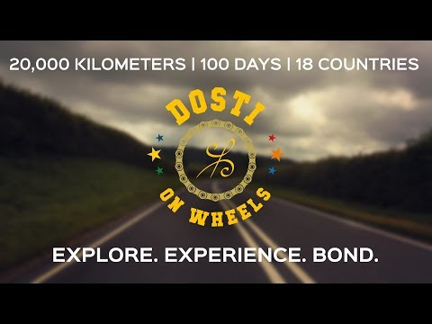 Europe on a motorbike in 100 Days - Dosti On Wheels