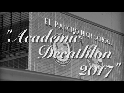 L.A. County Academic Decathlon: 2017
